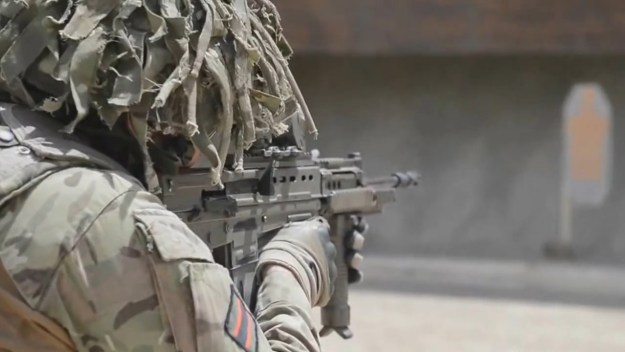 British Army Close Quarters Marksmanship