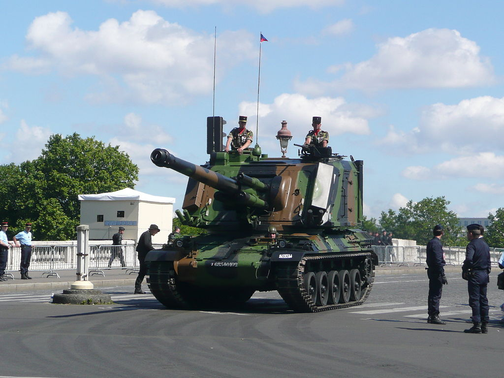 GCT AUF1 Self-propelled Artillery