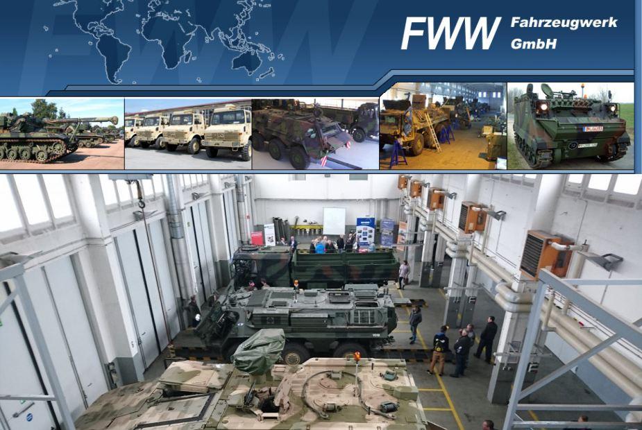 General Dynamics European Land Systems buys Germany's FWW Fahrzeugwerk GmbH