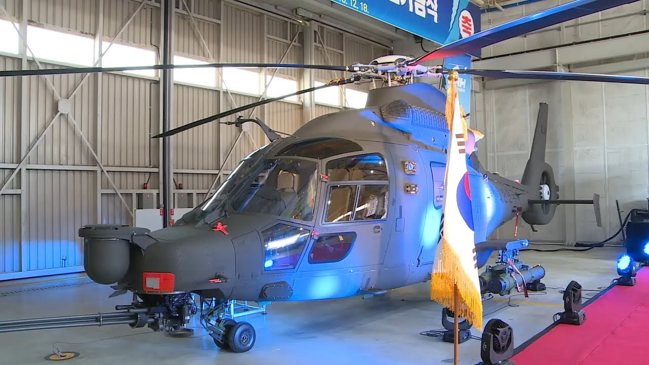 Korea Aerospace Industries (KAI) unveils Light Armed Helicopter (LAH)