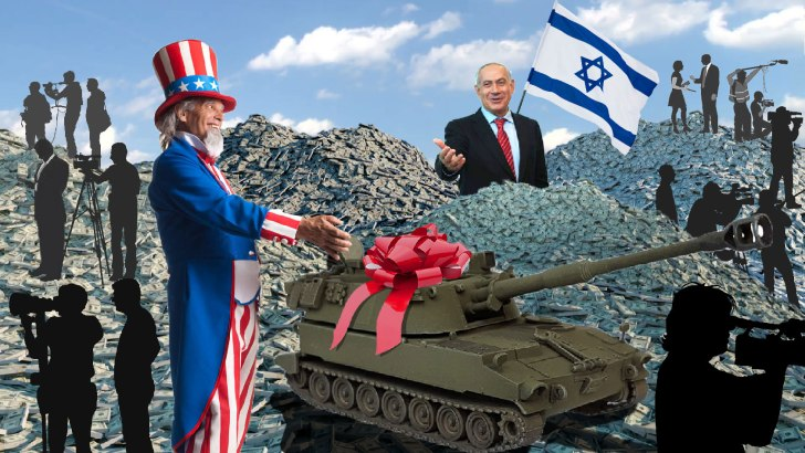 Media Ignore Largest Foreign Military Aid Package in US History