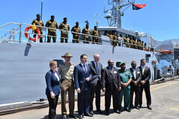 Papua New Guinea Defence Force receives first Guardian Class Patrol Boat (GCPB)
