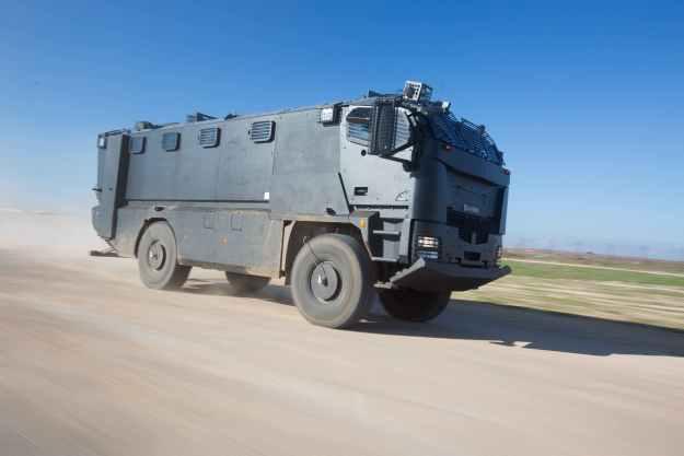 Plasan Guarder Armoured Vehicle