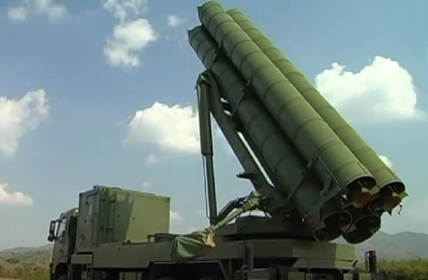 Royal Thai Army DTI-1 Multiple Rocket Launcher