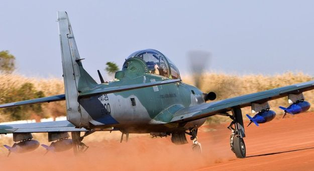 Sierra Nevada Corporation (SNC)-Embraer A-29 Super Tucano light-attack turboprops