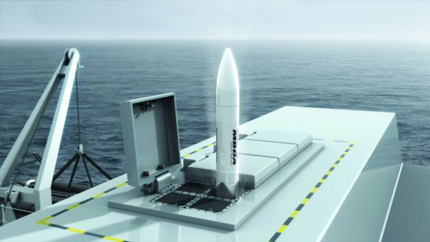 MBDA Sea Ceptor Common Anti-air Modular Missile