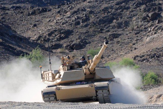 U.S. Army testing M1A2 SEPv3 at Yuma Proving Ground