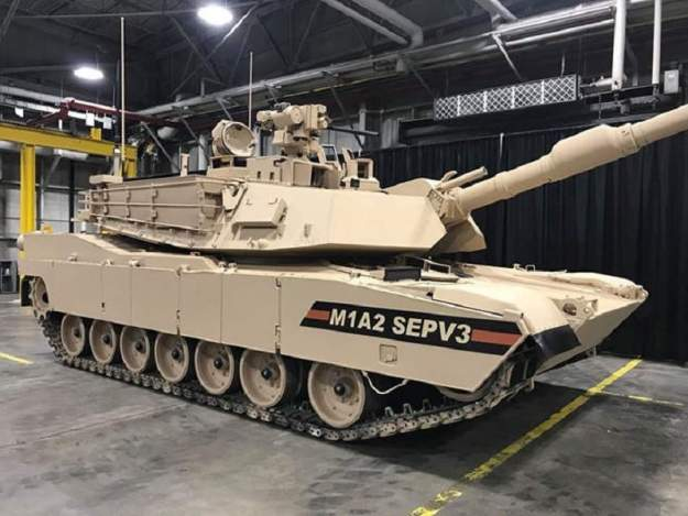 U.S. Army testing M1A2 SEPv3 at Yuma Proving Ground