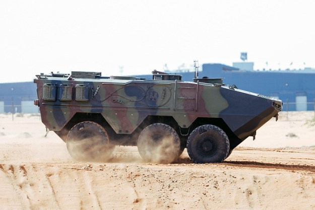Varan 6x6 Amphibious Armored Vehicle