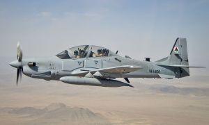 Afghan Air Force A-29 Super Tucano Counter-Insurgency Aircraft