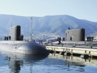 Algeria Navy commissions new Kilo class diesel-electric attack submarine