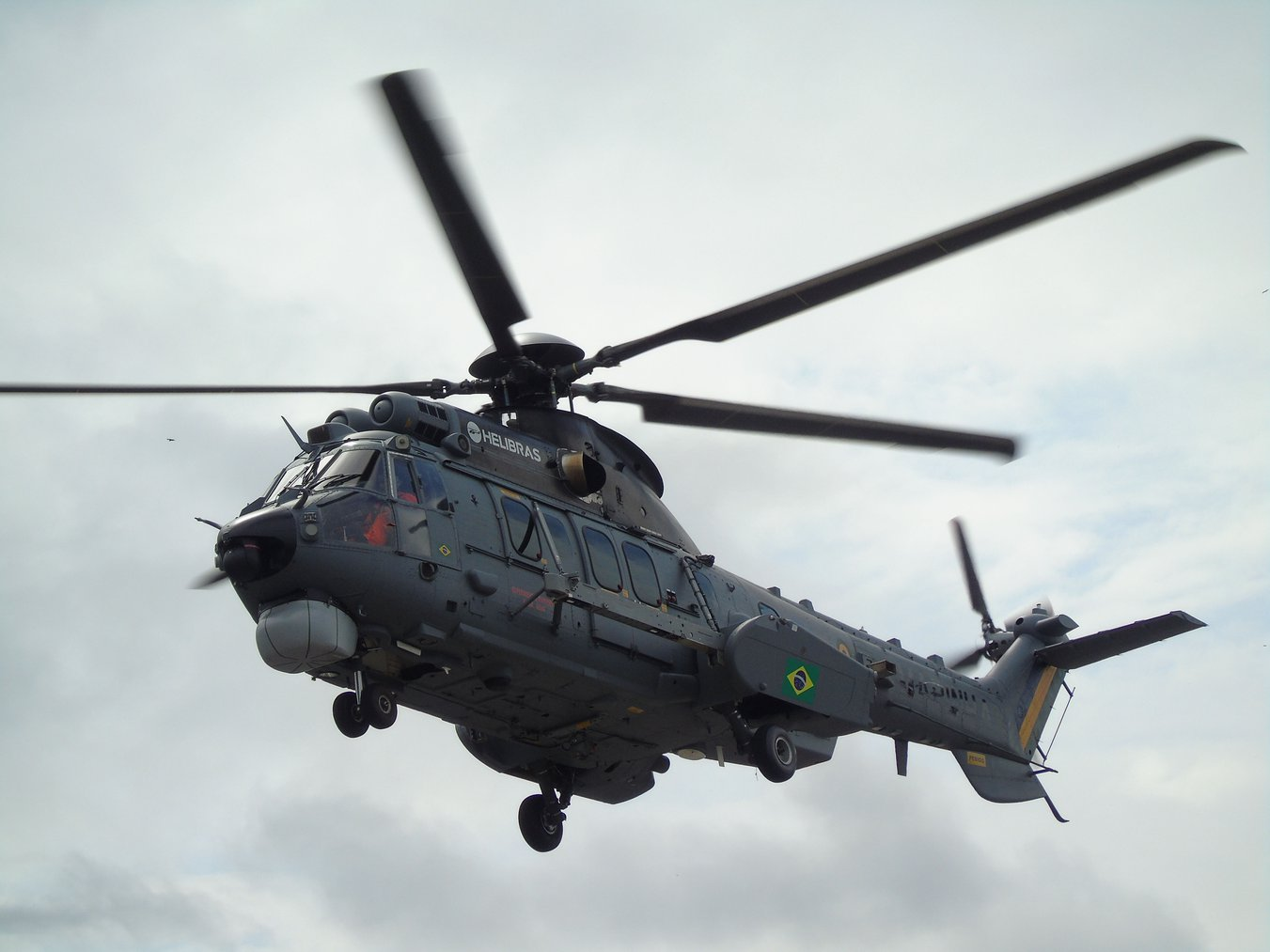 Brazilian Navy receives 3 H225M helicopters