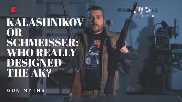 Kalashnikov or Schmeisser: who really designed the AK?