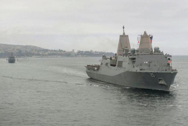 Littoral Combat Group 1 returns from South America
