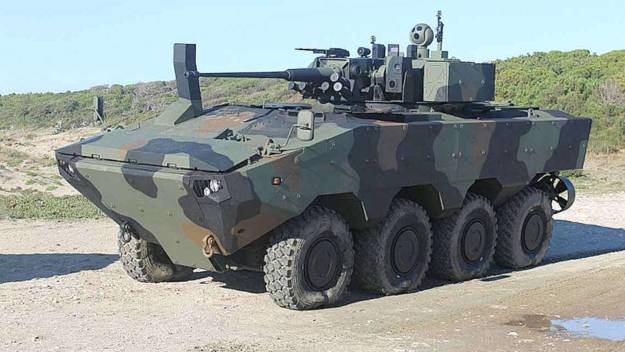 Iveco SuperAV amphibious armored vehicles