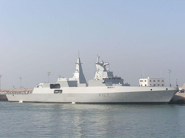 SAS Spioenkop Meko 200 frigate