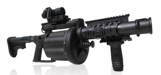 Milkor 40mm Super Six MRGL Multi Range Grenade Launcher