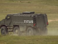 Nexter System Titus 6×6 wheeled armoured vehicles