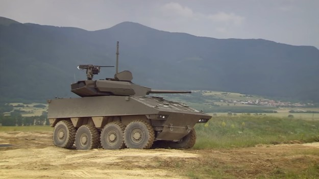 Nexter System VBCI 2 T40 8x8 wheeled armoured vehicle