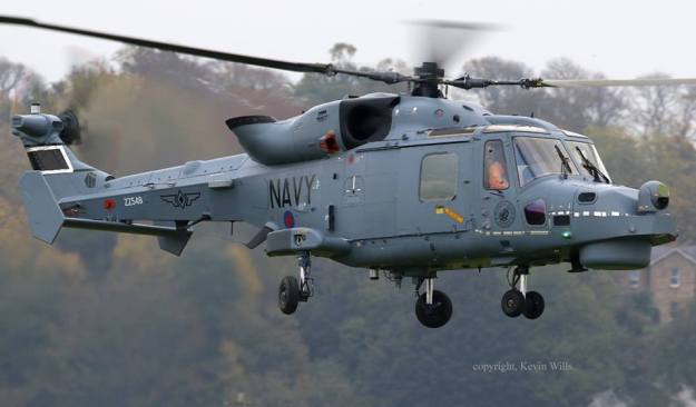 AgustaWestland AW-159 Wildcat anti-submarine helicopter