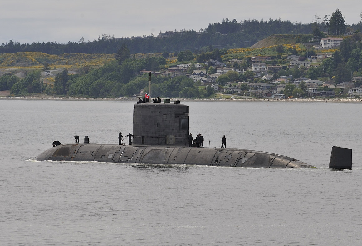 Royal Canadian Navy's Victoria-Class Submarines To Get Mast Installations