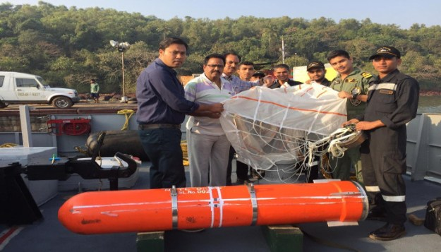 Indian Navy tests Sahayak air-droppable logistics containers