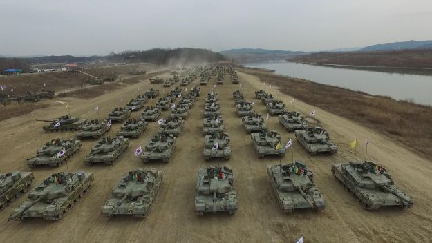 South Korea boosts defence spending by $242 billion to 2023