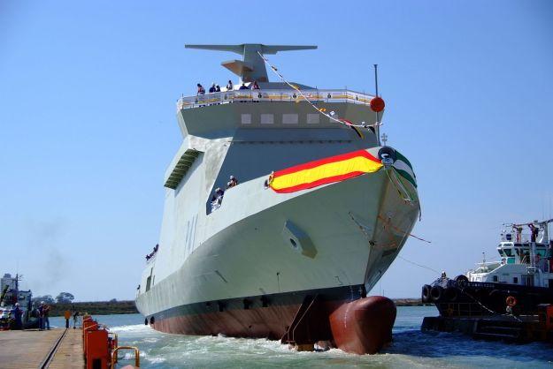 Spanish Navy Meteoro-class offshore patrol vessel
