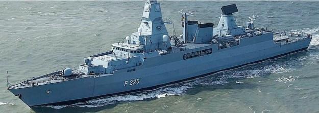 ThyssenKrupp Marine Systems Frigate Class 124