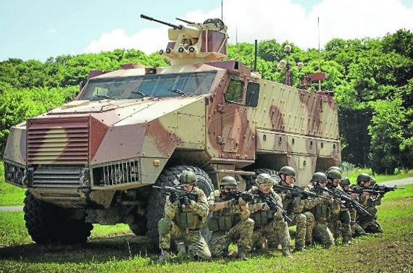 Titus Infantry Mobility Vehicle