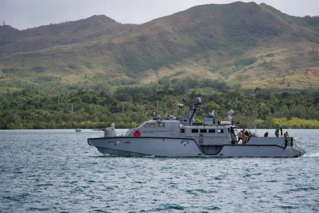 US Navy Mark VI Patrol Boats conducted longest transit ever made in the Pacific