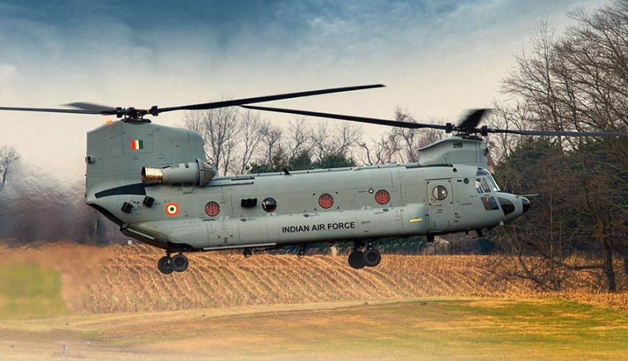 Indian Air Force  CH-47F(I) Chinook Helicopter
