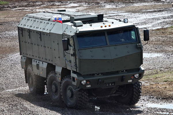KamAZ-63969 Typhoon MRAP Armoured Vehicle