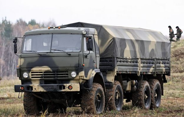 KamAZ-6350 8x8 military truck