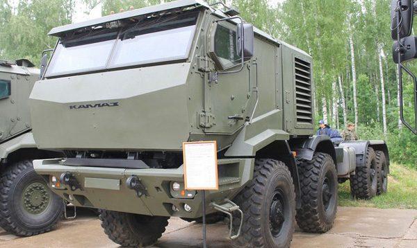 KamAZ-6560M Heavy high mobility truck