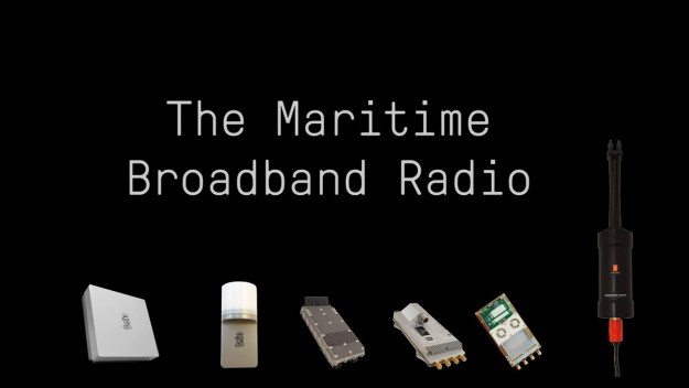 Kongsberg Gruppen Maritime Broadband Radio