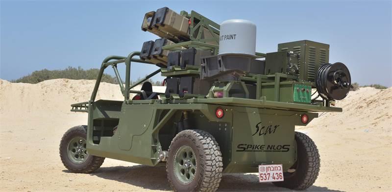 Rafael Spike NLOS Air Deployable Launcher