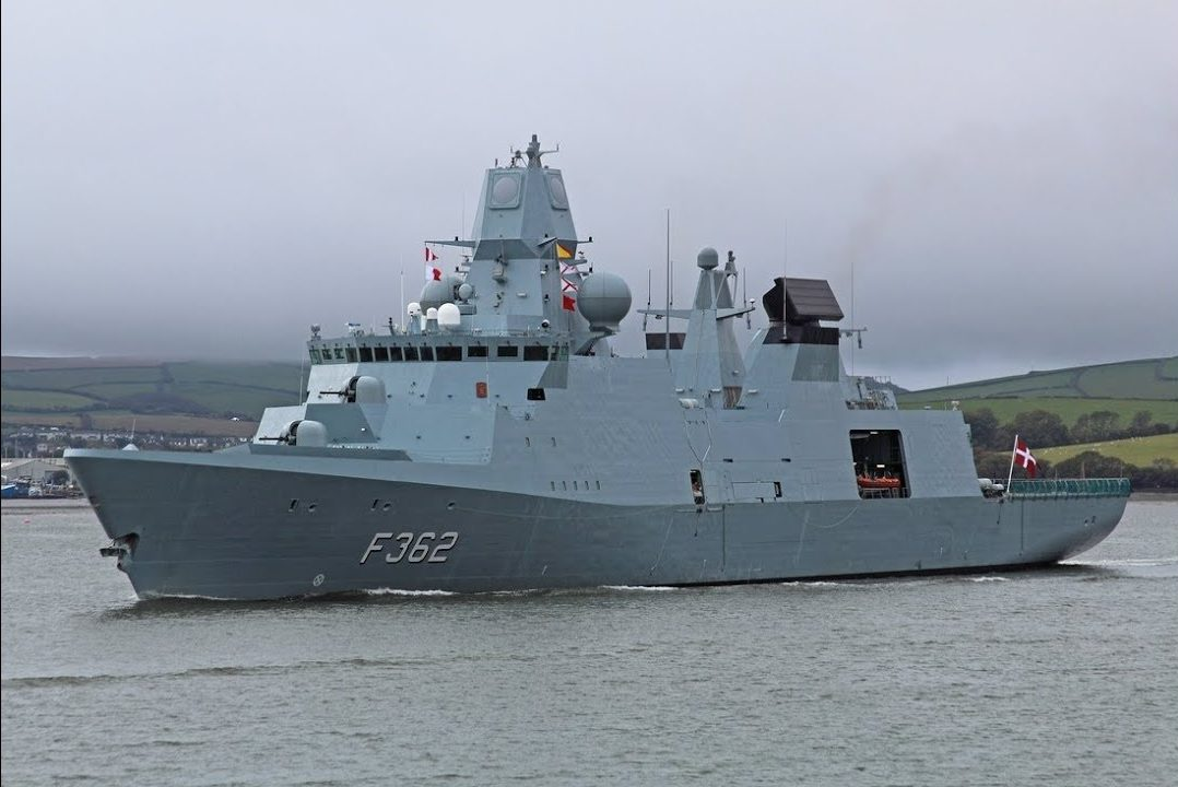 Royal Danish Navy - Ivar Huitfeldt Class frigates