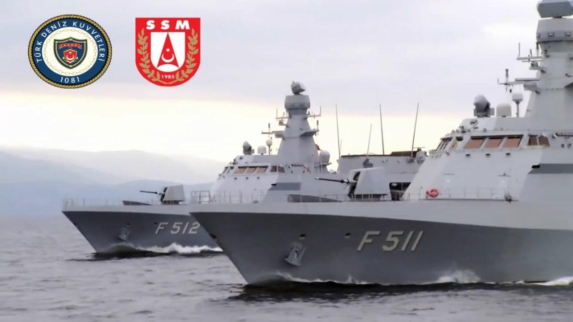 Turkish Navy Ada Class Corvettes (MILGEM Project)