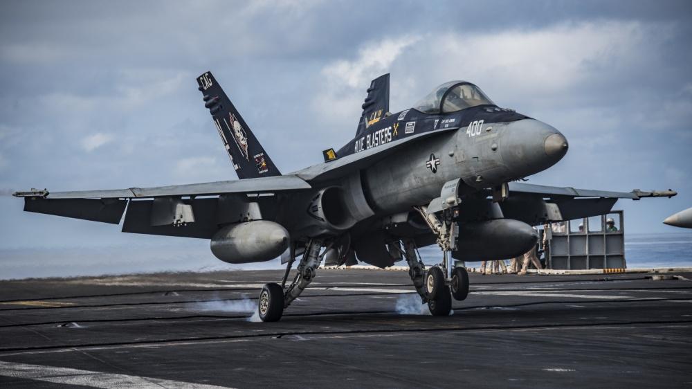 U.S. Navy farewells F/A-18C Hornet aircraft