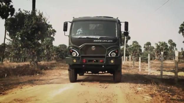 Ashok Leyland Guru 715 4x4 logistic truck