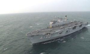 Brazilian Navy Amphibious Assault Ship Atlântico