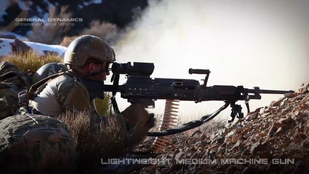Lightweight Medium Machine Gun (LWMMG)