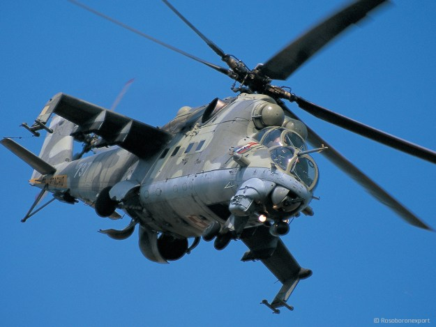 Mi-35M Transport/attack helicopter