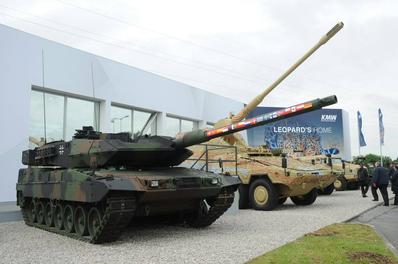 Rheinmetall to upgrade Leopard 2 Tank to standard 2A7V for German Army