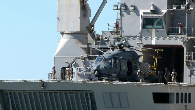 Royal New Zealand Air Force NH90 Medium Military Helicopter