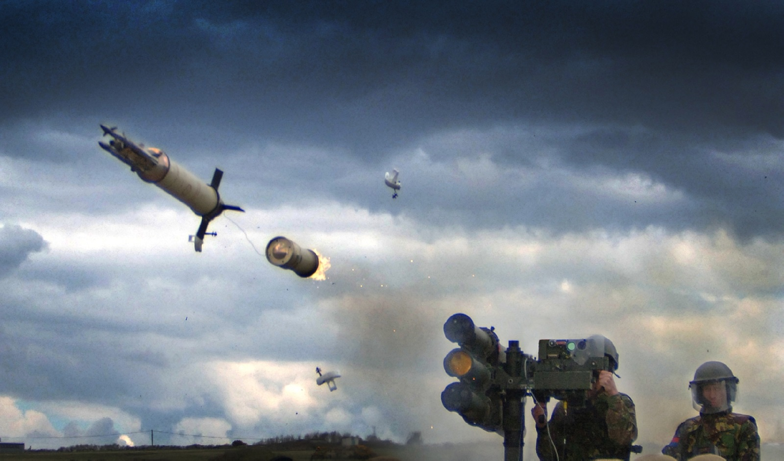 Thales Starstreak High Velocity Missile