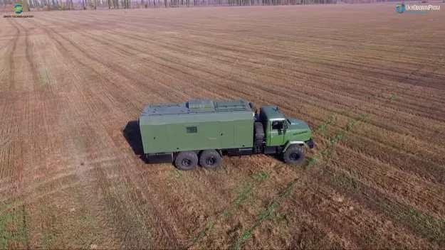SA-10U Command Vehicle
