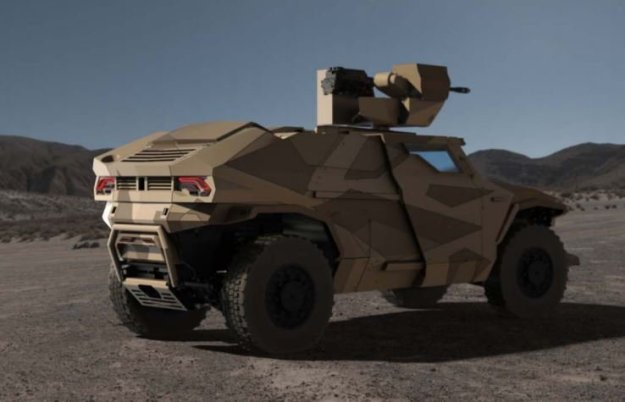 Arquus Scarabée Armoured Vehicle