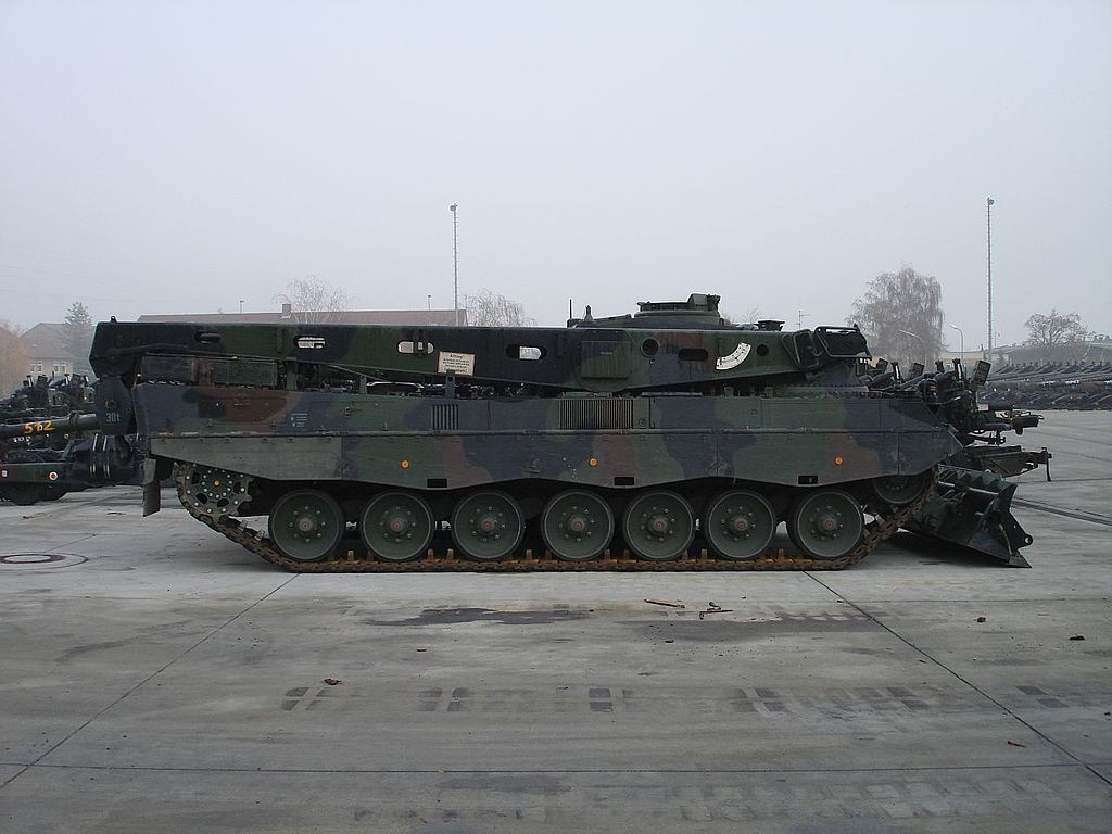 The Royal Netherlands Army select Rheinmetall to modernize Bergepanzer 3 Büffel ARVs